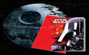 Покани за Рожден Ден Darth Vader Star Wars