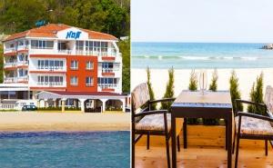 На Брега на Морето през Юли и Август! Нощувка със Закуска в Хотел Ной, К.к Чайка, <em>Златни Пясъци</em>!