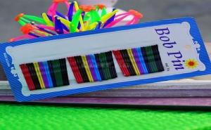 Комплект Цветни Фиби за Коса Bob Pin