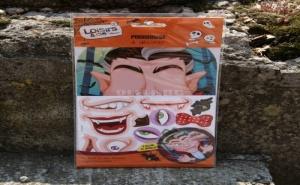 Забавен Комплект за Игра със Стикери Граф Дракула
