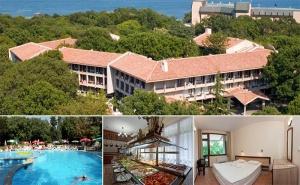 На Море в Златни Пясъци! Нощувка със Закуска + Басейн в Хотел Преслав на 150М., от Плажа!