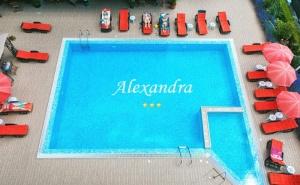 Нощувка на човек със Закуска, Обяд и Вечеря в Хотел Александра, <em>Свети Влас</em>