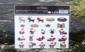 Коледни Стикери Дядо Коледа и Подаръци