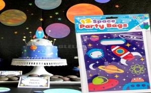Парти торбички Космос