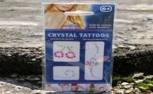 Кристални татуировки за тяло