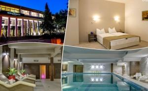 Нощувка на човек със Закуска, Обяд и Вечеря + Минерален Басейн и Релакс Пакет в Хотел Монте Кристо, <em>Благоевград</em>