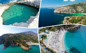 През Септември на Остров <em>Тасос</em>, Голдън Бийч, Гърция. Транспорт, 2 Нощувки на човек със Закуски от Та Далла Турс
