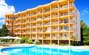 Нощувка на човек на База All Inclusive + Собствен Плаж от Хотел Бона Вита, Златни Пясъци. за Настаняване до 28 Юли Плащате 6 Нощувки и Получавате 7-Ма Безплатно