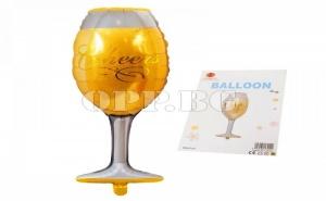 Фолиран Балон Чаша Шампанско