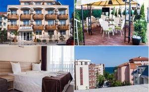 През Септември на Море в <em>Равда</em>! Нощувка със Закуска и Вечеря* в Хотел Ивиан, на 150М. от Плажа!