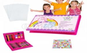 Комплект за Оцветяване от 42 Части за Момче или Момиче