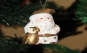 Коледна Играчка от Папие Маше