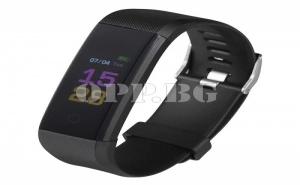 Смарт часовник 0,96  LCD Bluetooth черен