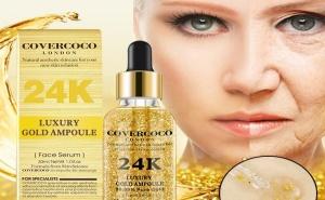 Серум за лице Covercoco с 24 карата чисто Злато!