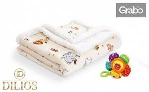 Топло и пухкаво бебешко одеяло
