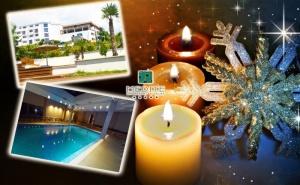 Коледа в <em>Сандански</em>! 3 или 4 Нощувки на човек със Закуски и Вечери + Минерален в Хотел Медите Спа Резорт*****