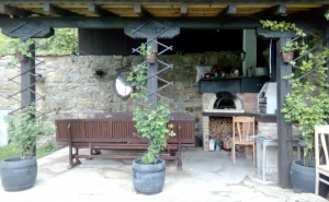 Нощувка за до 10 Човека + Трапезария с Камина и Барбекю на Цена 150.00 лв. в Самостоятелна Къща Дива в с. Скандалото Край <em>Априлци</em>