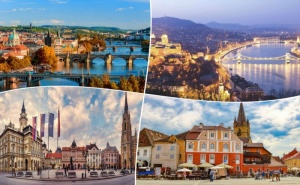 Предколедна Екскурзия до Прага и Будапеща! Транспорт, 3 Нощувки със Закуски на човек от Та България Травъл