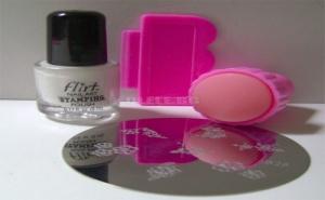Уникален Маникюр с Печат за Нокти Nail Art Stamping Kit
