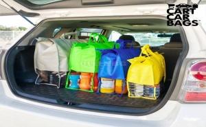 Торби за Покупки за Багажник Cart Car Bags (4 Броя)