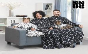 Детско Одеяло с Ръкави Symbols Snug Snug One Kids