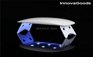 Мини Led Uv Лампа за Нокти Innovagoods