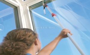 Чистачка за Прозорци с Телескопична Дръжка