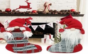 Стопер за Врата Коледен Чорап Christmas Planet