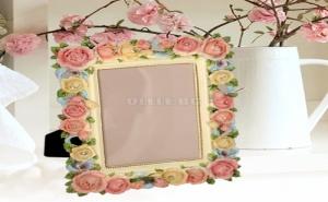 Уникална 3D Рамка за Снимка Рози