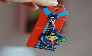 Детски Ключодържател за Цип или Чанта Zip Amis Пират