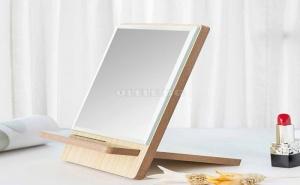 Дървено Козметично Огледало