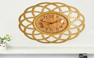 Декоративен Стенен Часовник Плетеница