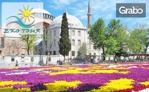 Посети Истанбул! 2 Нощувки със Закуски, Плюс Транспорт и Възможност за Посещение на Фестивала на Лалето