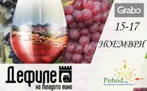 За Фестивала Дефиле на младото вино в Пловдив! Еднодневна екскурзия на 16 Ноември