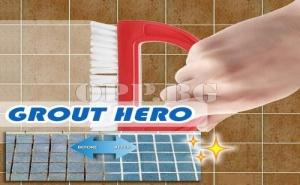 Четка за Избелване на Фуги Grout Hero