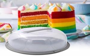 Кръгла Кутия за Съхранение на Торта или Кекс