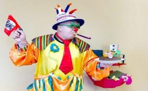 60 или 90 Минути Детско Парти с Клоуна Панко и Галка Залъгалка за до 20 Деца от Театър Пан