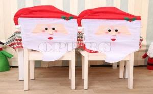 Коледен Калъф за Стол Дядо Коледа