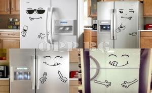 Оригинален Стикер за Хладилник