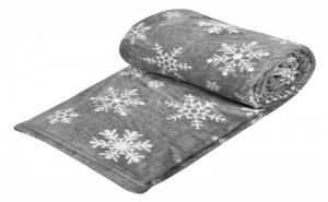 Плюшено Топличко Одеяло Снежинки