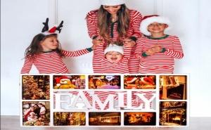 Голяма Рамка за 10 Броя Снимки Family