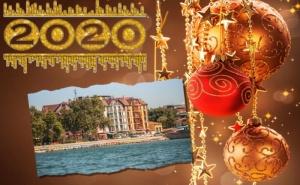 Нова Година 2020 в <em>Поморие</em>! 2 или 3 Нощувки на човек със Закуски и Доплащане за Празнична Вечеря  + Басейн и Спа в Хотел Сейнт Джордж****