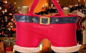 Коледна Чанта за Бутилки или Подаръци