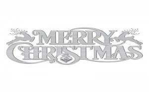 Декоративен Стикер за Стена Merry Christams