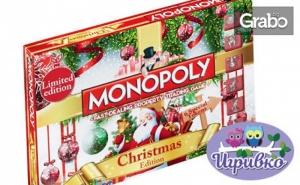 Настолна Игра monopoly: Коледно Издание