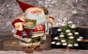 Декоративен Дядо Коледа Night Before Christmas