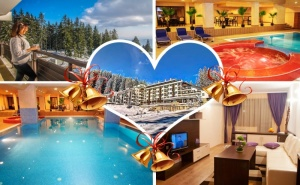 Нова Година в Пампорово! 2, 3 или 4 нощувки за двама със закуски и вечери, едната празнична + басейн в хотел Невястата