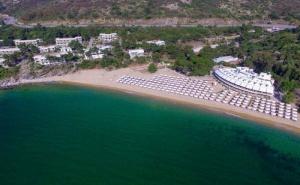 Ultra All Inclusive на Спокоен Частен Плаж до Кавала в Хотел Bomo Tosca Beach в Каря на Юни и Началото на Юли