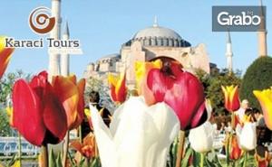 За Фестивала на Лалето в Истанбул! 2 Нощувки със Закуски, Плюс Транспорт от <em>София</em>