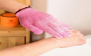 Пилинг Ръкавица за Лице и Тяло 2 Броя